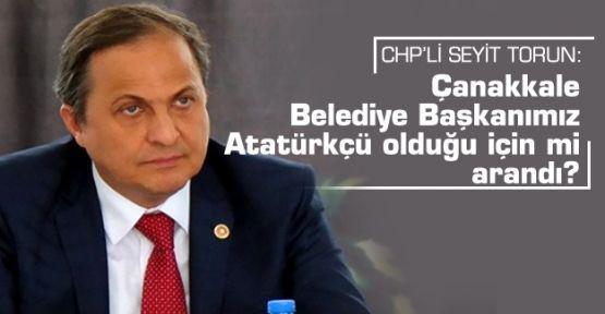 CHP'li Torun'dan arama tepkisi!