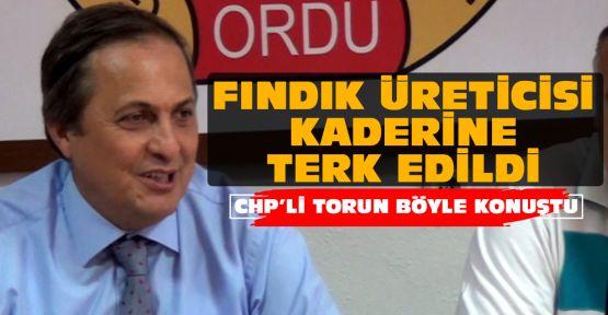 CHP'li Torun'dan fındık tepkisi!