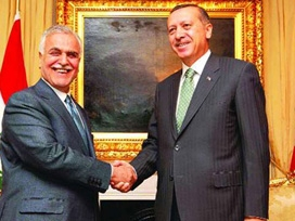 Erdoğan, Haşimi görüşmesi başladı