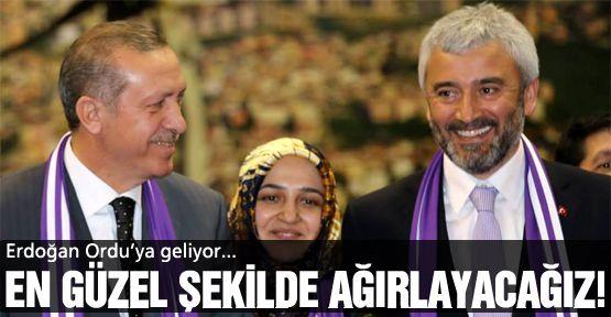 Erdoğan, Ordu'ya geliyor!