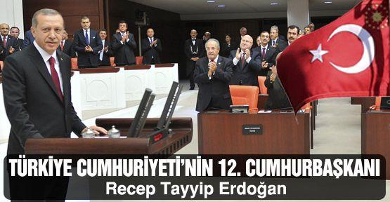 Erdoğan, Türkiye Cumhuriyeti'nin 12.Cumhurbaşkanı