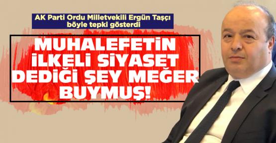 Ergün Taşçı'dan 15 milletvekili tepkisi!
