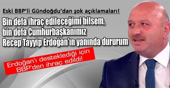 Eski BBP'li Metin Gündoğdu'dan şok açıklamalar!