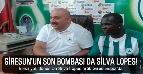 Giresun'da Da Silva Lopes tamam!