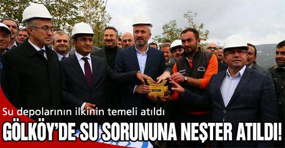 Gölköy'de su sorununa neşter atıldı!