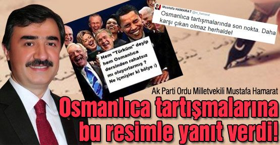 Hamarat'tan ilginç twit!