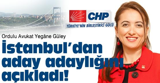 İstanbul'a Ordulu kadın aday adayı!