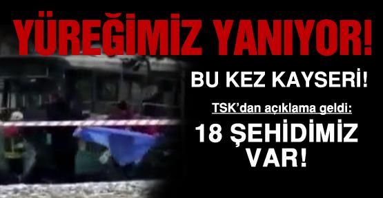 Kayseri'den yürek yakan haber!