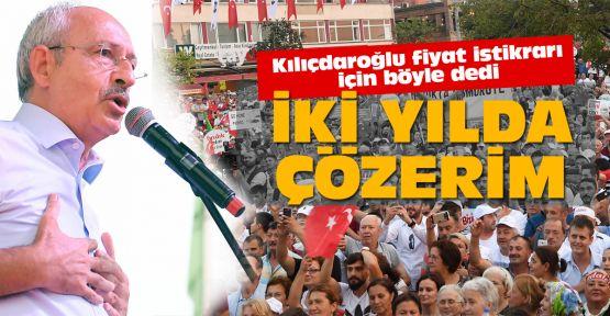 Kılıçdaroğlu fındığı konuştu