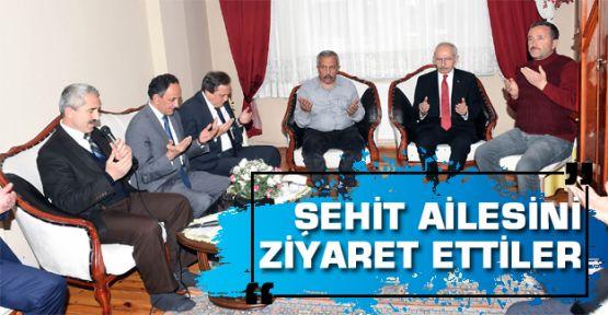 Kılıçdaroğlu'dan şehit ailesine ziyaret