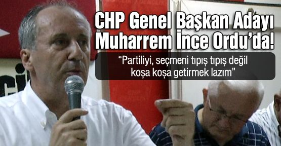 Muharrem İnce'den Kılıçdaroğlu'na ince göndermeler!