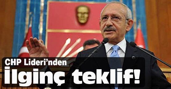 Kılıçdaroğlu'ndan 1 Mayıs teklifi
