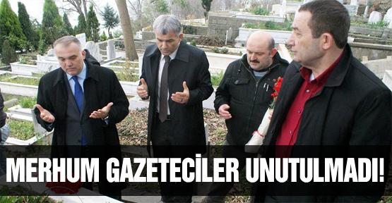 Merhum gazeteciler dualarla anıldı!