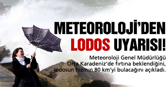 Meteoroloji'den lodos uyarısı!