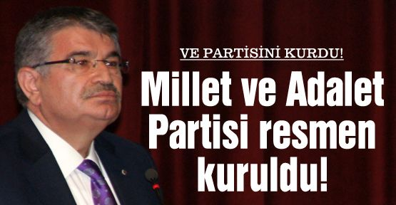 Milletvekili Şahin partisini kurdu!