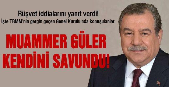 Muammer Güler kendini nasıl savundu?