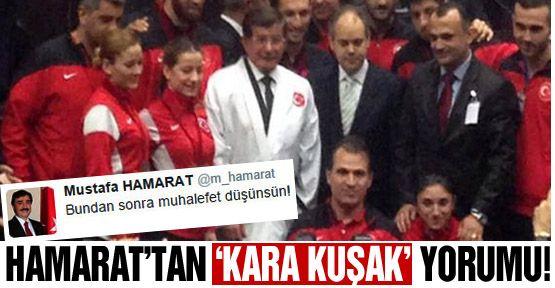 Mustafa Hamarat'tan 'kara kuşak' yorumu!