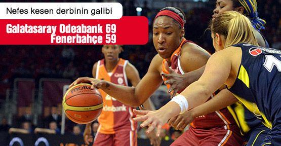 Nefes kesen derbinin galibi Galatasaray!