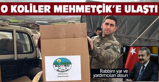 O koliler Afrin'deki Mehmetçik'e ulaştı