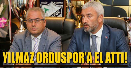 """OBB Başkanı Yılmaz: """"Orduspor bizim markamız"""""""
