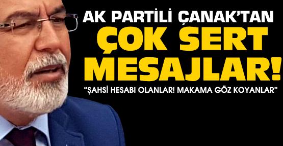 Oktay Çanak'tan çok sert mesajlar!