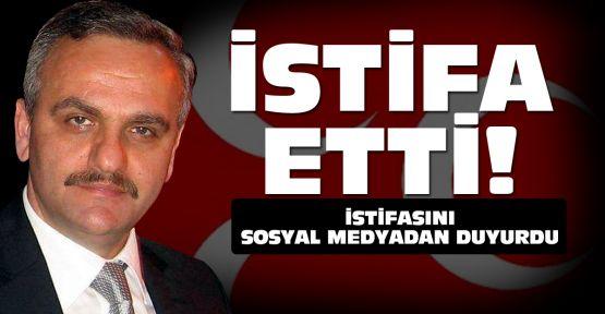 Onur Şahin de MHP'den istifa etti