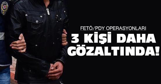 Ordu'da FETÖ Operasyonu 3 gözaltı!