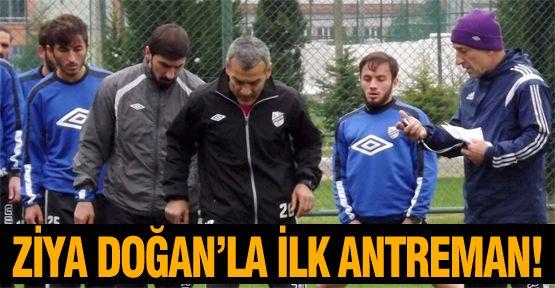 Orduspor'da Ziya Doğan'la ilk idman!