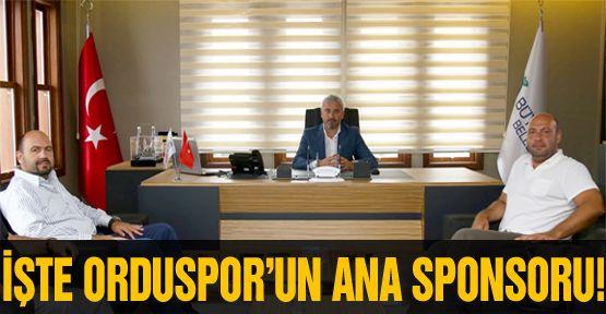 Orduspor'un ana sponsoru Sagra oldu!