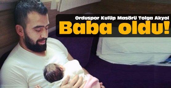 Orduspor'un masörü baba oldu!