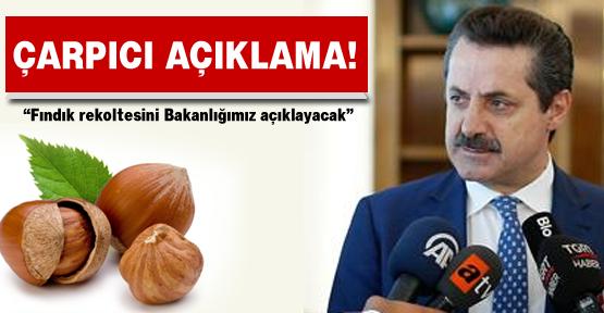 """Tarım Bakanı'ndan """"rekolte"""" açıklaması!"""