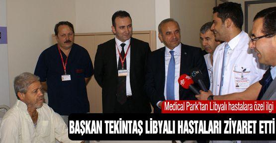 Tekintaş'tan Libyalı hastalara ziyaret