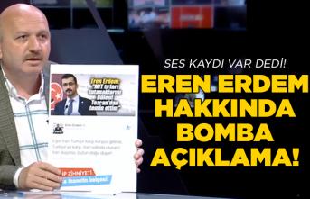 Gündoğdu'dan Eren Erdem hakkında bomba açıklama!