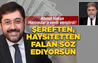 Murat Hazinedar'a verdi veriştirdi!