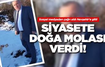MHP'li Cemal Enginyurt'tan siyasete doğa molası!