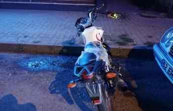 Ordu'da motosiklet yayaya çarptı: 3 yaralı