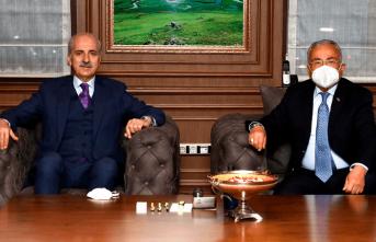 Numan Kurtulmuş'tan Başkan Güler'e ziyaret