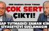 Başkan Yılmaz, Türkmen'le ipleri kopardı!
