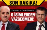 Erdoğan o isimlerden vazgeçmedi!