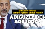 CHP'li Adıgüzel'den şok eden iddia!