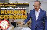 Vali Yavuz'dan 'hukuk' uyarısı!