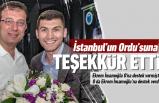 Başkan Tepe'den İstanbul'a teşekkür