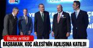 Başbakan, Koç Ailesi'nin açılışına katıldı