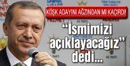 Erdoğan Çankaya adayını ağzından mı kaçırdı?