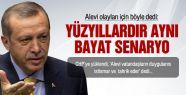 Erdoğan, Alevi olaylarında CHP'yi tahrik etmekle suçladı!