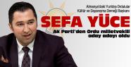 Sefa Yüce Ak Parti'den aday adayı oldu!