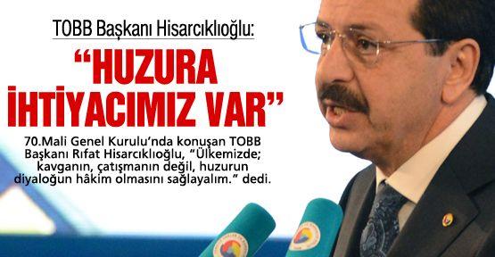 TOBB Başkanı: