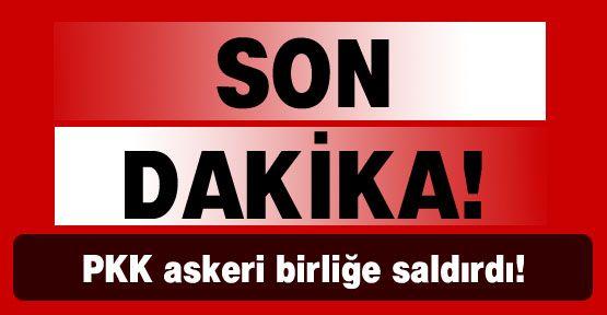 Tunceli'de askeri birliğe silahlı saldırı!