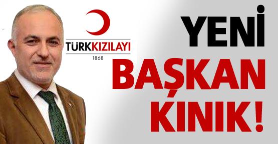 Türk Kızılayı'nda yeni Başkan Kınık!
