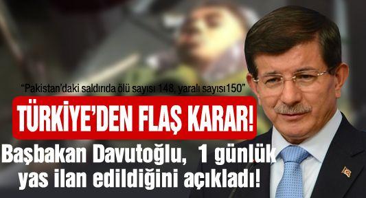 Türkiye, 1 günlük yas ilan etti!